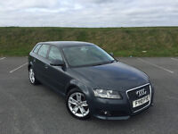 STUNNING 2010 AUDI A3 TDI 2.0 5 DOOR SPORTBACK WITH FULL SERVICE HISTORY AND A NEW MOT!