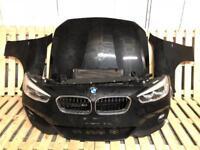 BMW 1 series f20 m sport front end bumper bonnet wing rad headlights Xenon