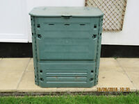 Rectangular compost bin flat packed 400 litres capacity
