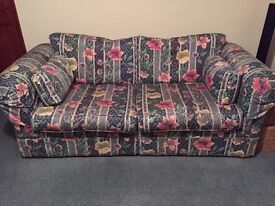 Three piece suite. Barker and Stonehouse. Excellent condition.