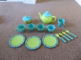 ELC Blue/Green Teaset