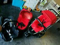 Quinny Buzz red very good condition