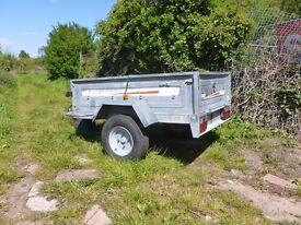 erde 142 trailer camping tipper 5 foot by 3
