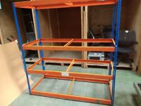 "Bolt free Racking 6ft 5"" high x 6ft wide x 30 inches deep"