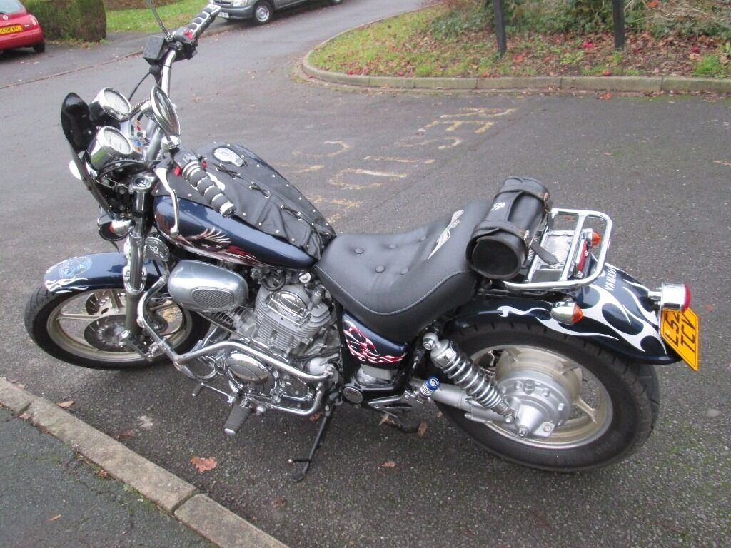 yamaha virago 750 custom cruiser chopper in woking surrey gumtree. Black Bedroom Furniture Sets. Home Design Ideas