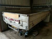 Ford Transit body Drop Sides - Aluminium with Wood Floor
