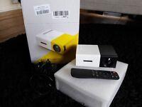 LED Portable Project HDMI SD USB AV compatible