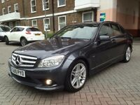 Mercedes C Class C200 CDI BlueEFFICIENCY Sport 4dr AUTO 2010 REG FULL SERVICE HISTORY P/X WELCO