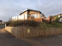Luxury Willerby Boston Lodge for sale at Ladram Bay Devon