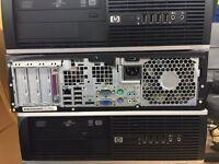 "HP Elite 8100 SFF PC core i5, 3.2GHz, 8GB RAM, 1TB Hard Drive 17"" monitor,mouse & keyboard"