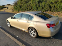 Lexus GS 300 Full Year MOT V6 Petrol Automatic GS300 Beige 2 owners from new Low Mileage
