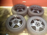 Alloys wheels with very good tyres