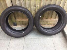 Michelin Alpin 5 Winter Tyres 225/50 R17 98V x2