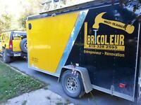 RÉNOVATION MULTITRAVAUXLEBRICOLEUR.COM 819 328-2595