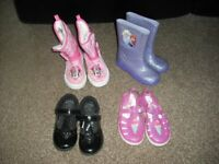 shoes and boots size 9