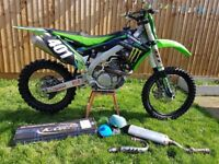 Kxf 450 2015 with new k-tech spring forks
