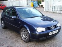 "VW GOLF ""S"" TDi 5 Door Diesel MOT End February 2017 Lots History (receipts)"
