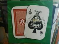 Vw campervan cards canvas