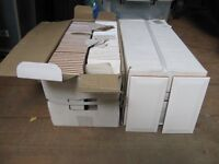 White Bevelled Ceramic Wall Tiles - 150 x 75 x 6mm thick.