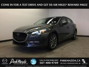 2018 Mazda Mazda3 GT Premium Sport AT - Bluetooth, Backup Cam, H
