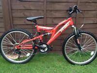 Boys Apollo mountain bike , ideal present