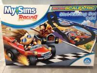 My Sims scalextric set.