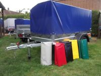 New car trailer small camping 750kg TOP COVER 80 CM