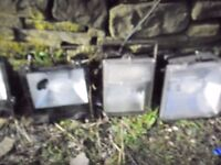 5 x security lights large outdoor flood lights, light up your property