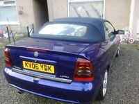SALE SALE SALE 06 PLATE LOW MILES ASTRA BERTONE EXCLUSIVE CONVERTIBLE