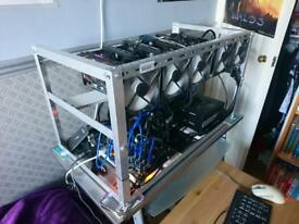 181 MH/s + Fully Optimised 6 Card Mining Rig!!