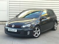 2013 Volkswagen Golf 2.0 GTI 5DR BLACK ***FULL HEATED LEATHER***CHOICE OF TWO NOT S3