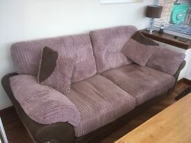 3 seater sofa,Tub Chair and foot stool