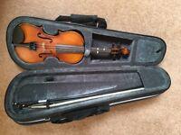 1/4 size student violin