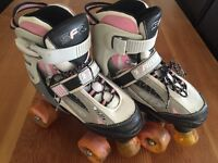 Roller snakes adjustable roller boots
