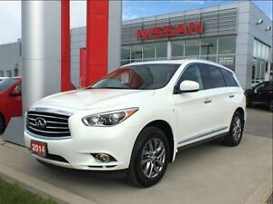 2014 Infiniti QX60 Base, leather, heated seats/steering wheel