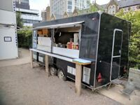 Burger Van Catering Trailer for Sale