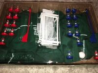 Subbutteo game as new in box + table top football game