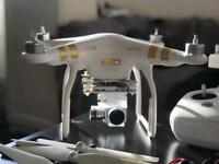Dji phantom 3, 4K LIKE NEW