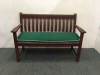 Alexander Rose Garden Furniture 4ft Cornis Broadfield Bench With Cushion