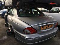 JAGUAR X-TYPE V6 SE AUTO 2002- FOR PARTS ONLY