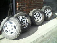 4x landrover alloys