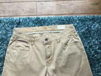 Men's Camel Active Hudson Slim fit Sand Jeans W36 L32