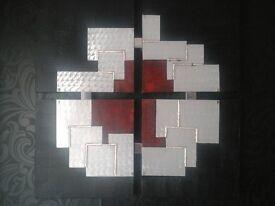 Reid Furniture wall art £70 was £600 metal firm frame