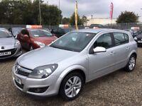 2008 Vauxhall Astra 1.6 i 16v SXi 5dr MOT May 2018. Serviced