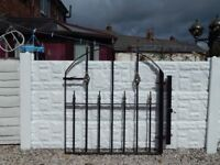 wrought iron gate / garden gate / metal gate / steel gate / house gate / side gate / driveway gates