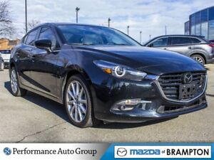 2017 Mazda MAZDA3 GT . CPO. ROOF. NAVI. CAMERA. BLUETOOTH. ALLOY