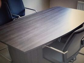 Good condition Office meeting table in a dark chocolate colour 1.8M TO SIT 6-8