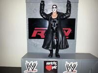 wwe wcw wrestling figure Sting collectable