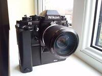 Nikon F3 Camera Outfit
