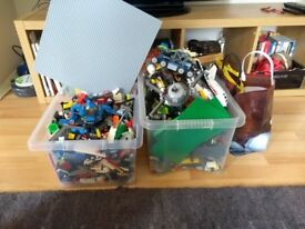 Two boxes of lego